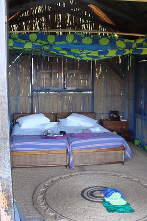Cape Maclear, Malawi : Chalet Interior