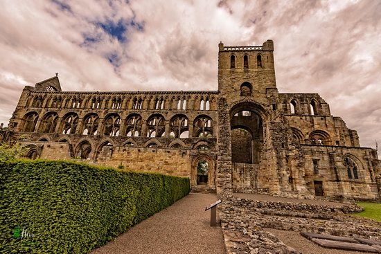 Jedburgh, UK: view from the entrance
