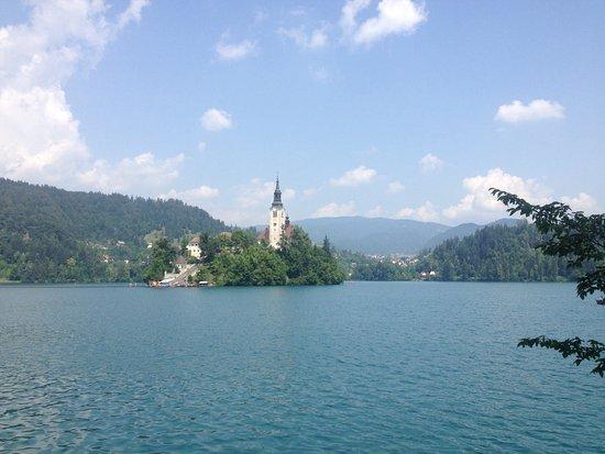 "Garni Hotel ""Berc"": Island in Lake Bled"