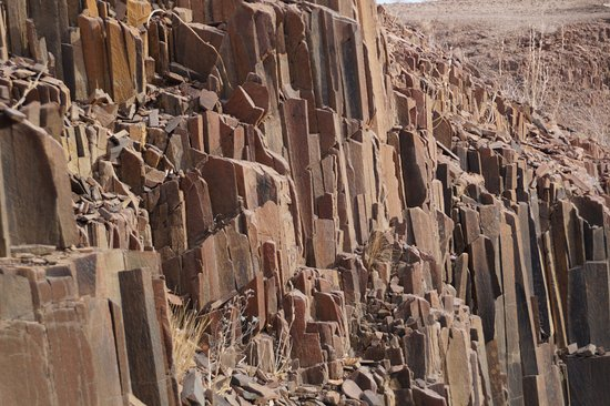 Damaraland, Namibia: Organ Pipes