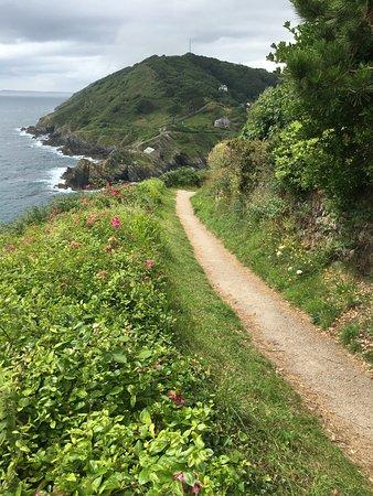 Trewithian, UK: Walking alone the coastal path to Portscatho
