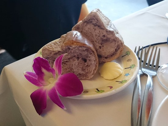 Star of Honolulu - Dinner and Whale Watch Cruises: Purple bread