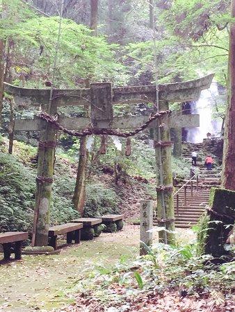Nishihara-mura, Japon : 白糸の滝交流館 糸舞季