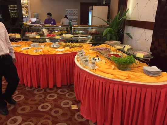 Son La, Βιετνάμ: 早餐選擇不多