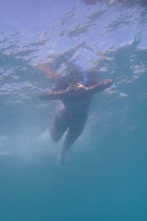 Oslob, Filipiny: Me in water