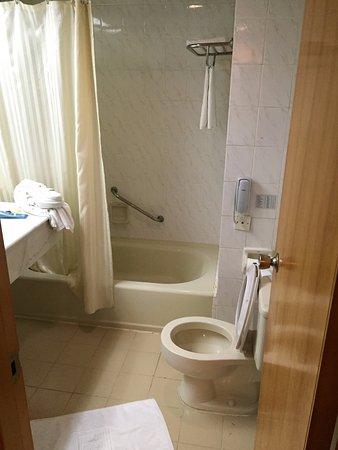 Son La, Vietnam: 廁所小浴缸小馬桶小
