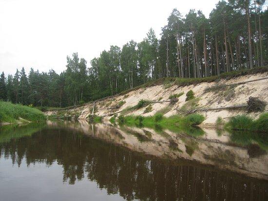 Ventspils, Letonya: Irbe river Latvia