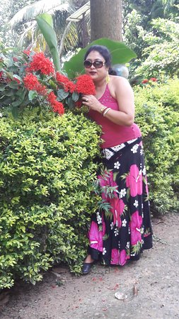 Bardhaman District, Indie: garden 1