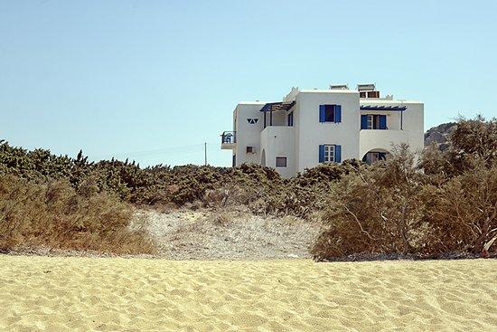 Mikri Vigla, Griekenland: isalos studios-view from the beach