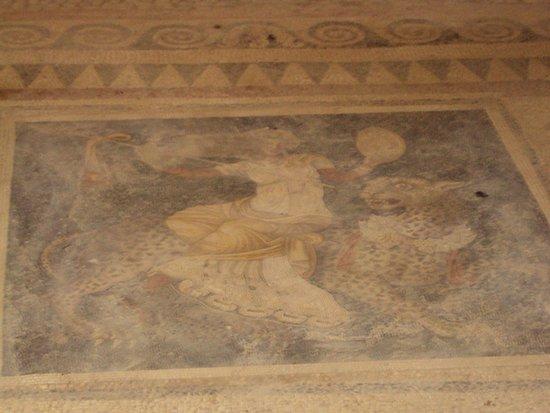 Delos : mosaico casa maschere