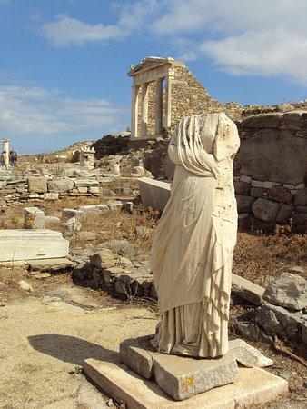 Delos : tempio di Hera