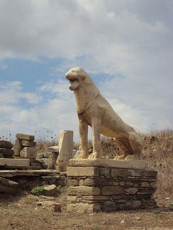 Delos : Leone di Naxos