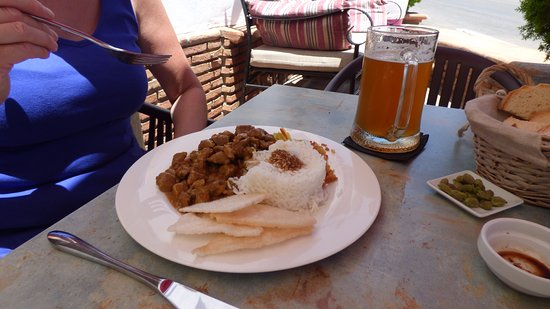 Comares, Spanien: curry