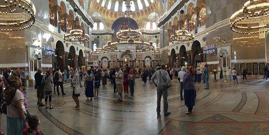 The Naval Cathedral of Saint Nicholas in Kronstadt : Внутреннее убранство сабора