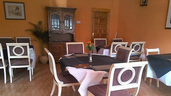Turre, Spain: dining room