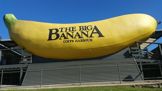 the big banana picture of the big banana fun park coffs harbour