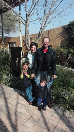 Muldersdrift, Zuid-Afrika: Our family almost ready to go back home again