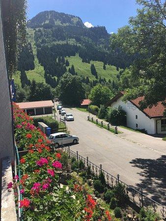 Hotel Restaurant Amadeus: Blick vom Balkon zum Imberger Horn