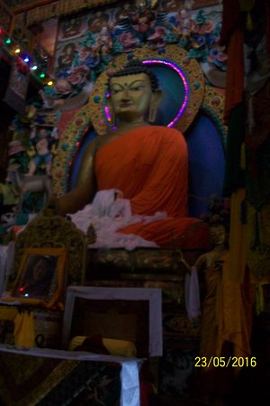 bhagwan buddha of tawang monestry picture of tawang monastrey