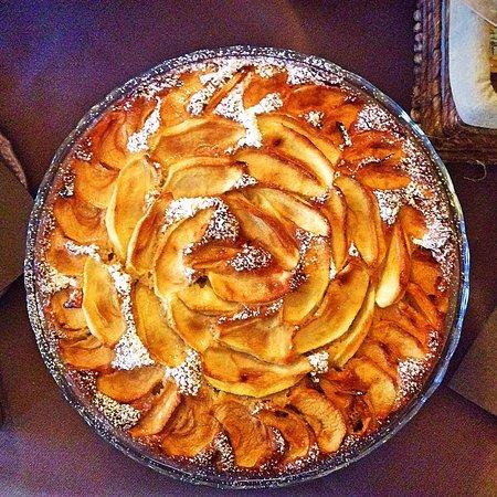 Hotel Chalet Plan Gorret: Torta di mele fatta in casa