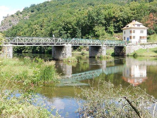 Grenzbrücke bei Hardegg
