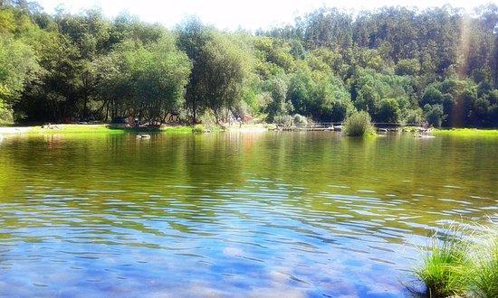 Póvoa de Lanhoso, Portugal: Praia Fluvial de Verim
