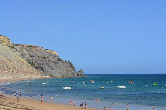 Luz, Portugal: Erg mooi strand