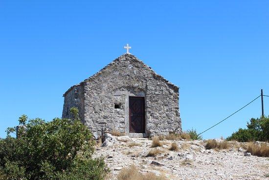 Island of Vis, Kroatia: The old church
