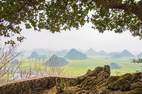 Luoping County, China: hidden patio