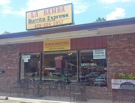 Swannanoa, Karolina Północna: La Bamba store front