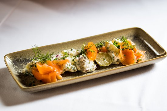 Spannort Restaurant: Gravlax - from our summer menu