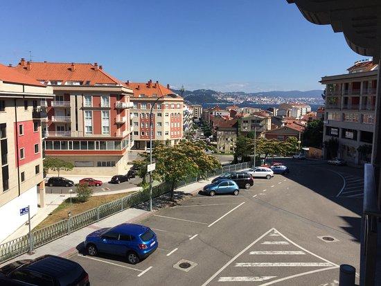 Moaña, España: Al fondo la Ria de Vigo