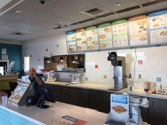 Calera, AL: ordering station