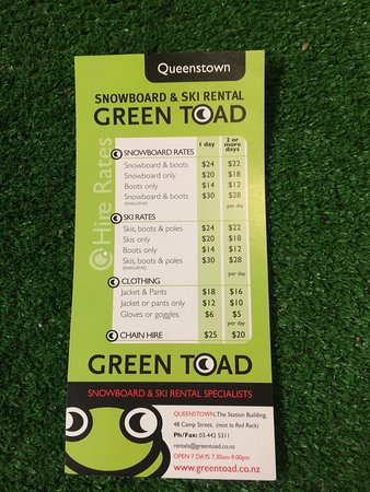 Green Toad Snowboard & Ski Shop