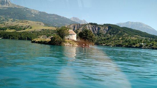 Les flots bleus : sur le lac la chapelle st Michel