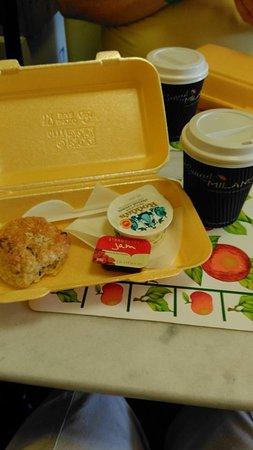 Tarquin's Tea Rooms: The plastic Cream Tea