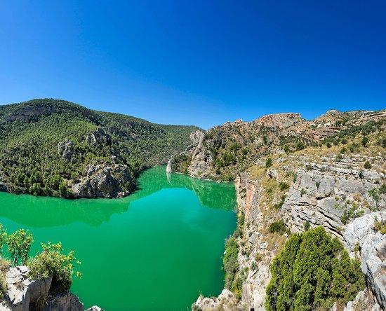 Province of Albacete, إسبانيا: Río Júcar a su paso por La Manhcuela