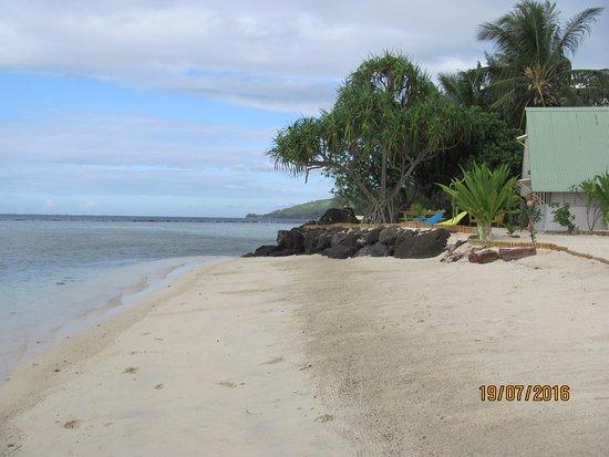 Afareaitu, بولينيزيا الفرنسية: the beach, low tide