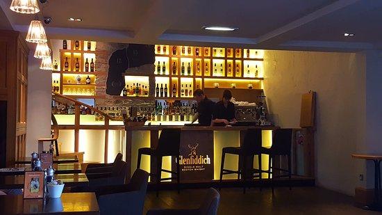 Dufftown, UK: the bar