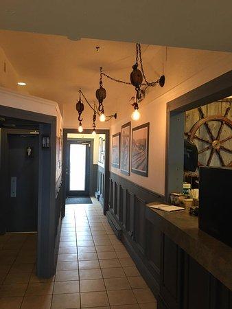 Digby, Canada: Foyer