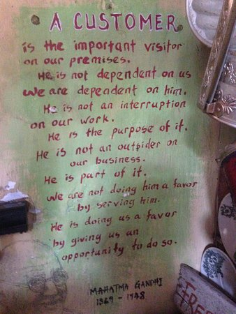 Calanthe Art Cafe: Writings on the wall