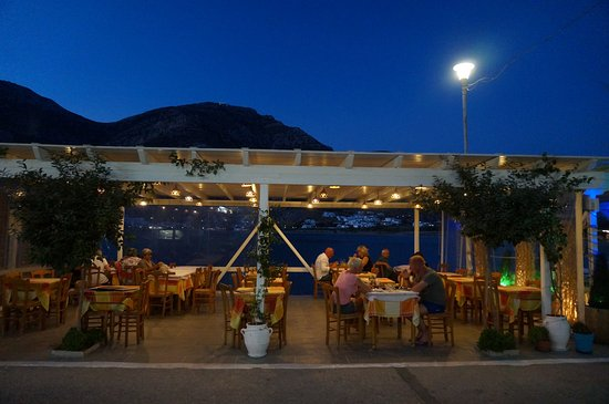 Kamares, Grecja: A view from the restaurant