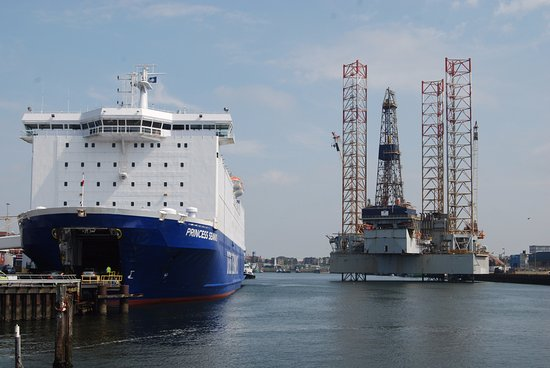 Ijmuiden, Holland: De Ferry naar New Castle