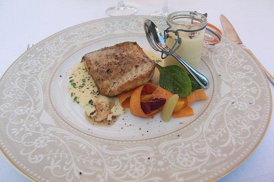 Gouvieux, France : Turbo rôti au beurre et thym