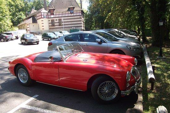 Gouvieux, Frankrike: Parking clients
