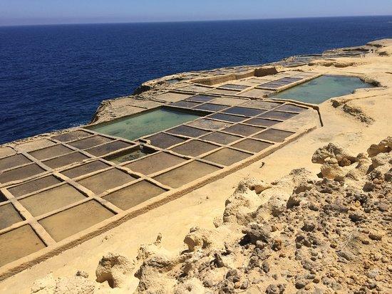 Zebbug, Malta: Salt pans