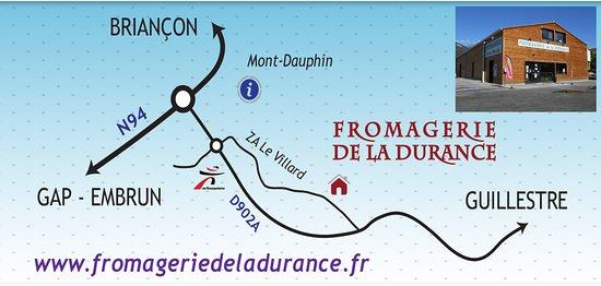 Guillestre, France: carte
