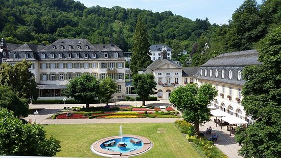 Kurhotel Fuerstenhof : Unser Ausblick auf den Kurpark