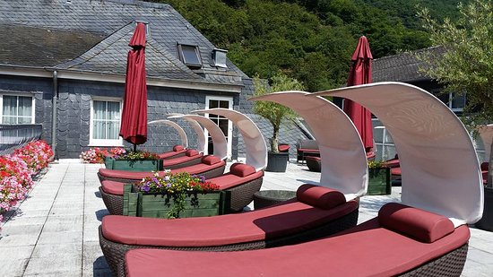 Kurhotel Fuerstenhof : Eine der Sonnenterrasssen