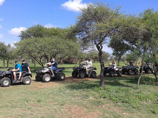 Gauteng, África do Sul: Game Quad Bike